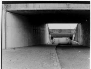 Tunnel Sliedrecht on Medium Format film
