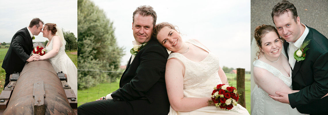 Bruidsreportage Miranda en Marco Oss